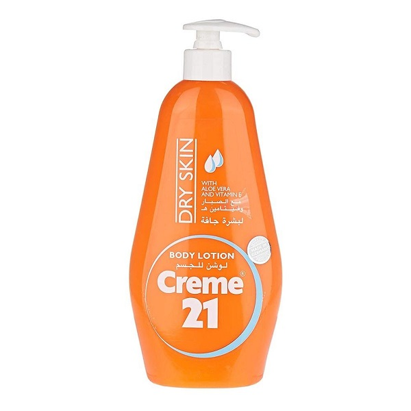Creme 21 Body Lotion Dry Skin with Pump