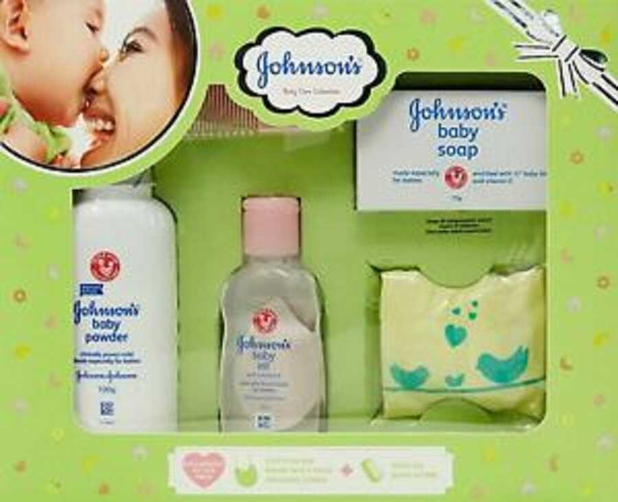 Johnson's Baby Care Collection Green